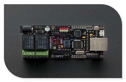 DFRobot Xboard/X-Реле доска, Atmega 32u4 Wiz5100 15A 250 В AC/30 В DC с Совместимость с Arduino Xbee гнездо 2 Реле для IoT