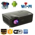 5500 Люмен проектор full hd Quad Core Android 4.4 Wi-Fi Умный 1080 P 3D LCD Домашний Кинотеатр СВЕТОДИОДНЫЙ Проектор Видео бимер Proyector