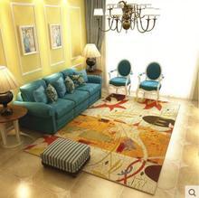 Black and white carpets For living room Personality creative trend Skull Print Rug Yoga Mat Custom logo size carpet tapis salon