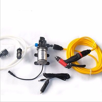A Set DC 12V 100W Portable Electric Car Washer Cleaner Tool For Car use