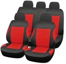 Car Seat Cushion Headrest Covers Interior Accessories Black Red Gray Blue 2016
