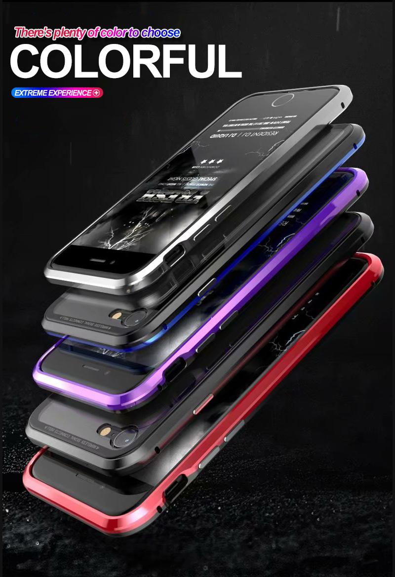 Strong Magnetic Adsorption Case For iPhone X 8   Case