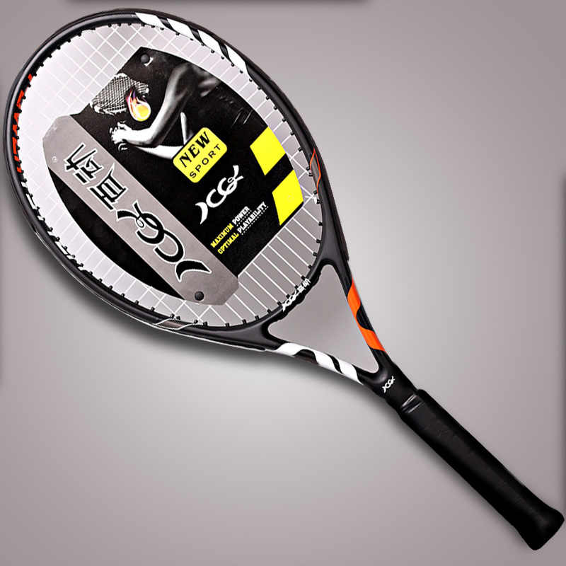Training Tennis Racket Carbon Fiber Pickleball String Bags Racquet Professional Padel Multicolor Rackets Sports For adult