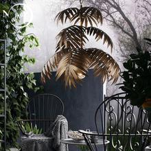 لوفت الحديثة شجرة جوز الهند نجفة مزودة بإضاءات ليد E27 الصناعية الإبداعية مصباح معلق لغرفة المعيشة مطعم غرفة نوم اللوبي فندق