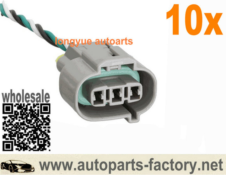 popular diesel wiring harness buy cheap diesel wiring harness lots longyue 10pcs diesel engine speed sensor connector plug wiring harness of denso three holes 8