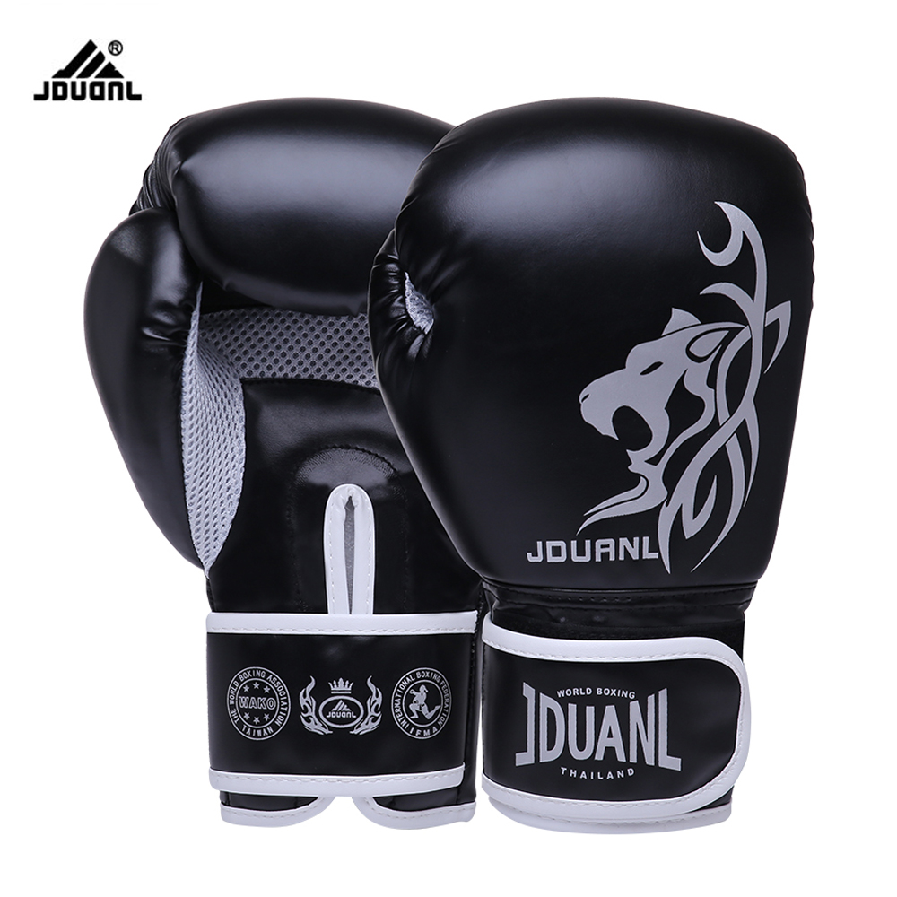 10OZ/6OZ Free Shipping High Quality PU Boxing Gloves ...