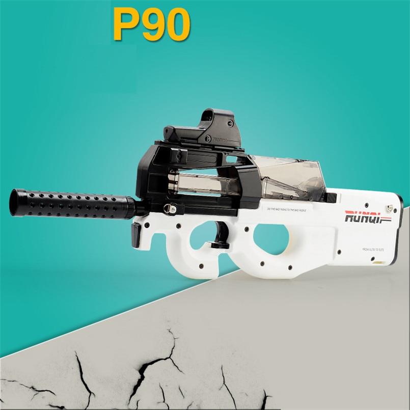 Eléctrico P90 Graffiti edición pistola de juguete Live CS Assault Snipe arma de simulación de agua suave al aire libre pistola de bala juguetes para niños los niños - 2