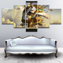 Wall Art For Decor5 Pieces Paintings on Canvas for Living Room Modern Decor DOTA 2 Game Home Decorations