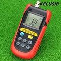 KELUSHI FTTH Fibra Óptica Power Meter TBM-70A-70 a + 6dBm Ajustável Portátil (Use FC/SC/ST Conector) Ferramenta De Teste De Cabo de rede