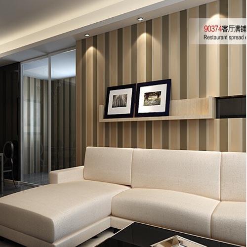Vergelijk prijzen op Striped Wallpaper Brown - Online winkelen ...
