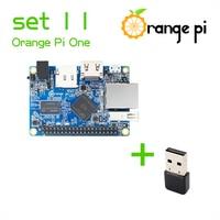 Orange Pi One SET 11:  Pi One  and USB Wifi Card Wireless Card Support Android, Ubuntu, Debian