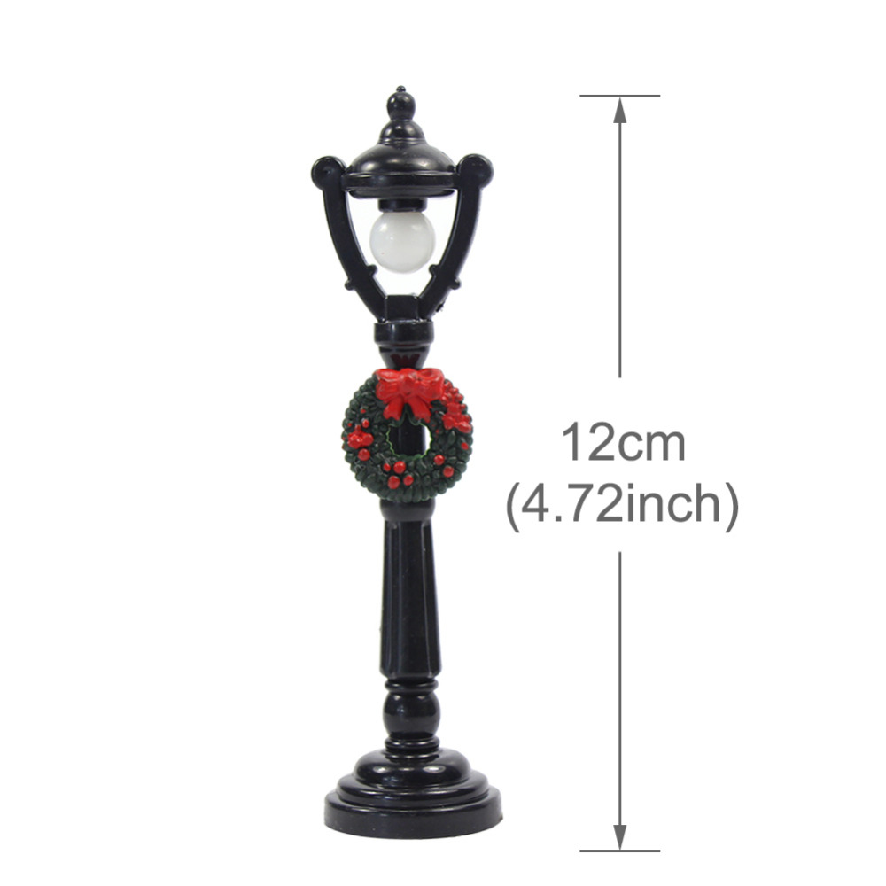lyc04 5pcs model railway christmas lamp post street lights o scale 3v new decoration in model building kits from toys hobbies on aliexpresscom alibaba - Christmas Lamp Post Decoration