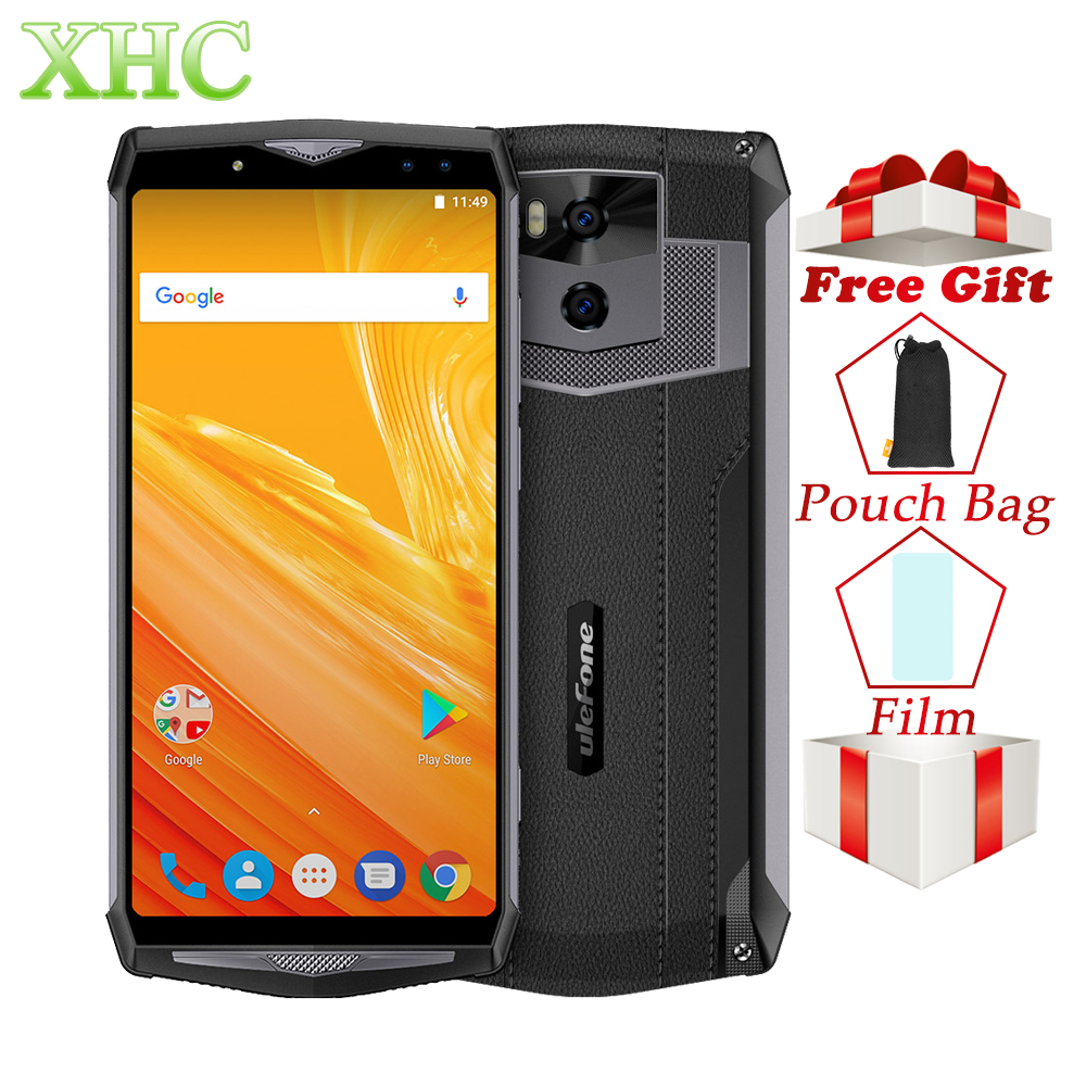 "4G Ulefone Power 5 Android 8.1 Smartphones 6.0"" FHD Octa Core 13000mAh RAM 6GB ROM 64GB 21MP Wireless Charge Face ID Dual SIM"