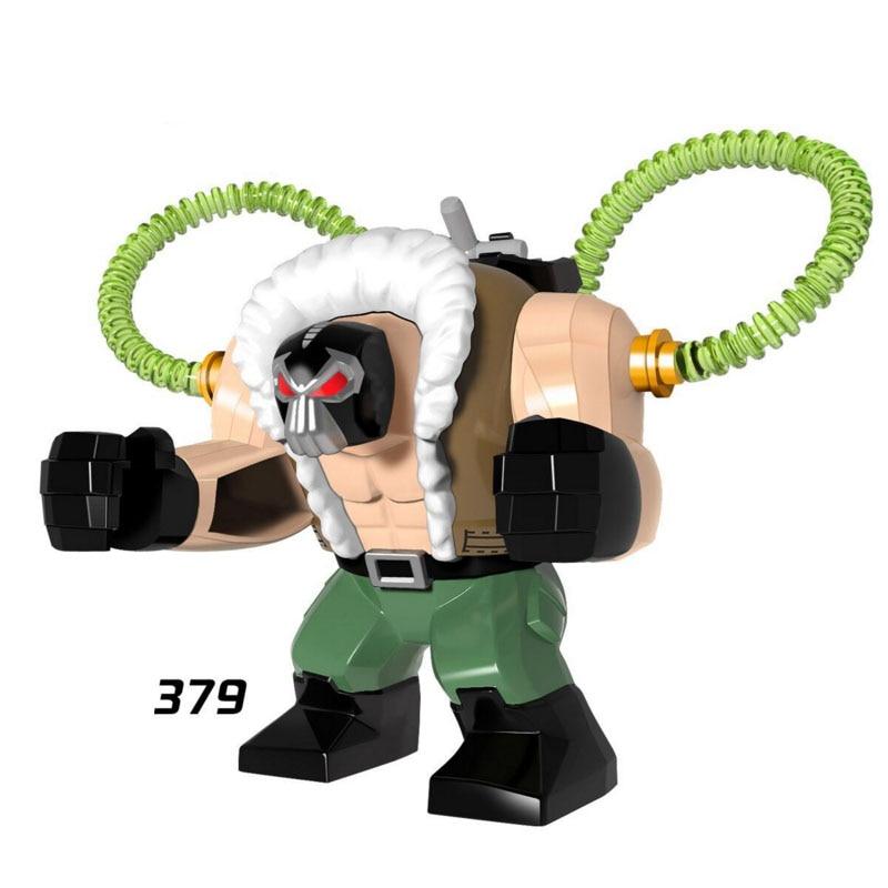 Single Sale Super Heroes Star Wars 379 Strengthen Bane Mini Building Blocks Figure Bricks Toy Kid Gift Compatible Legoed Ninjaed