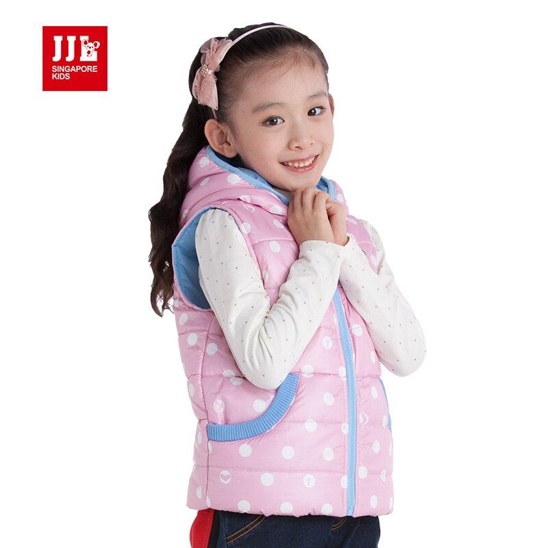 ФОТО girls waistcoat kids vest coat winter girls coat sleeveless 2015 girls clothing kids jacket girls vest girls parka girls clothes