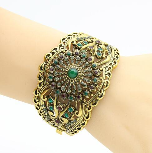 Turkish Women Flower Bangle...
