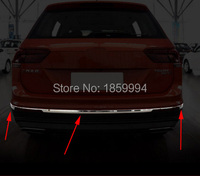 For 2016 2017 2018 VW Tiguan Mk2 Allspace America Version Car Styling Bottom Rear Bumper Trim