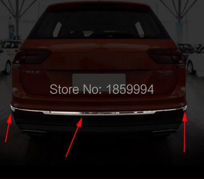 Per il 2016 2017 2018 VW Tiguan mk2 allspace America versione car styling inferiore Paraurti posteriore trim coperturaPer il 2016 2017 2018 VW Tiguan mk2 allspace America versione car styling inferiore Paraurti posteriore trim copertura