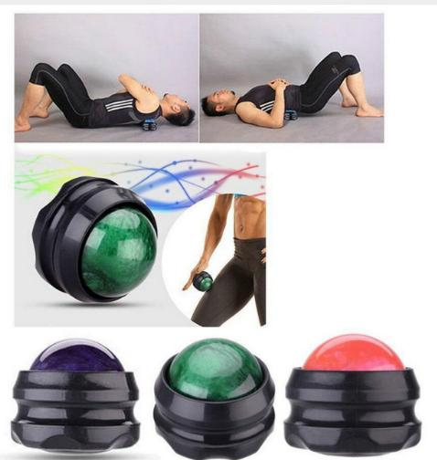 20pcs/lot Secret Resin Handle Massage Roller Ball Body Massager Therapy Foot Hip Back Relaxer Stress Release Massage Ball electric antistress therapy rollers shiatsu kneading foot legs arms massager vibrator foot massage machine foot care device hot