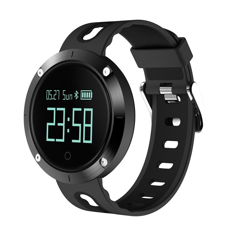 DM58 Smart Bracelet Blood Pressure IP68 Bluetooth Smart Wrist Band Heart Rate Sleep Sports Fitness Activity