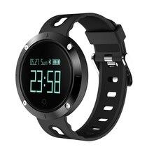 DM58 умный Браслет крови Давление IP68 Bluetooth Smart запястье сердечного ритма сна Спорт Фитнес активность часы браслет