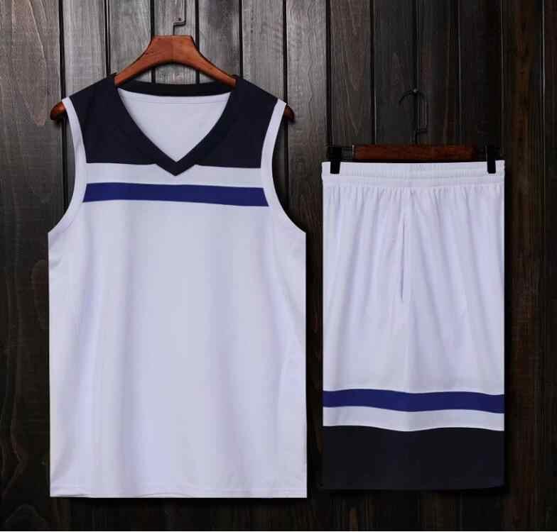 Los hombres de baloncesto de la Universidad camisetas conjunto uniforme de baloncesto camisas profesional salto jersey de secado rápido pantalones cortos de baloncesto
