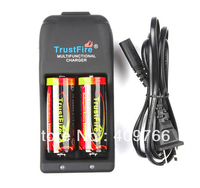 TrustFire TR 006 Multifunctional Battery Charger+2*TrustFire 26650 5000mAh 3.7v Rechargeable Protected battery,20SET/LOT