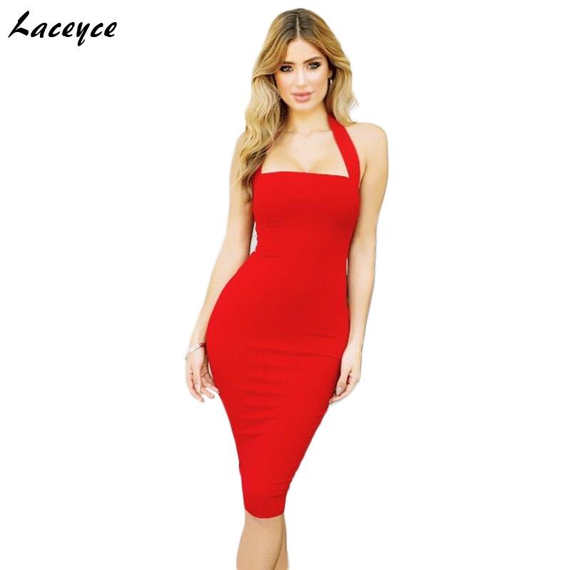 überlegene Materialien offiziell begrenzter Preis Laceyce 2018 Heißer Verkauf Sommer Party Kleid Rot Weiß ...