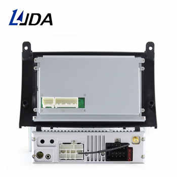 LJDA 1 Din Android 10.0 Car Radio For Peugeot 407 2004-2010 Car Multimedia Player Stereo Auto Audio GPS Navigation DVD Video DSP