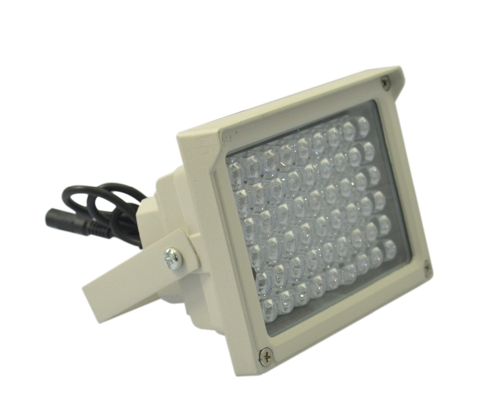 54PCS IR LED illuminator Infrared LED lamp for CCTV surveillance camera assistant Ir Infrared Night Vision illuminator