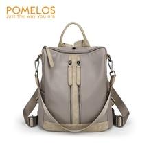 купить POMELOS Fashion Backpack Women 2019 New Arrival High Quality Fabric Backpack School Bags For Teenage Girls Travel Backpack Woman по цене 1752.86 рублей