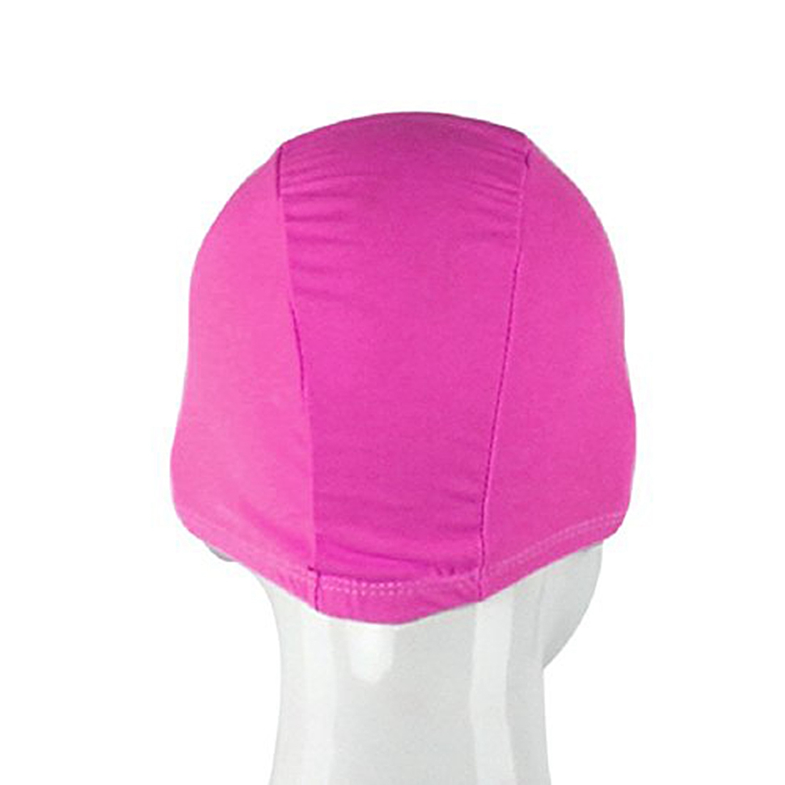 For Adult Swimming Hats Unisex Outdoor Sports Stretch Cap Rose red Karachi