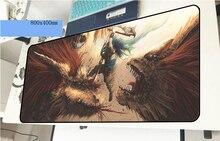 Monster Hunter геймерский коврик для мыши 3d 800x400x2 мм игровой коврик для мыши модный ноутбук аксессуары для ПК ноутбук padmouse эргономичный коврик