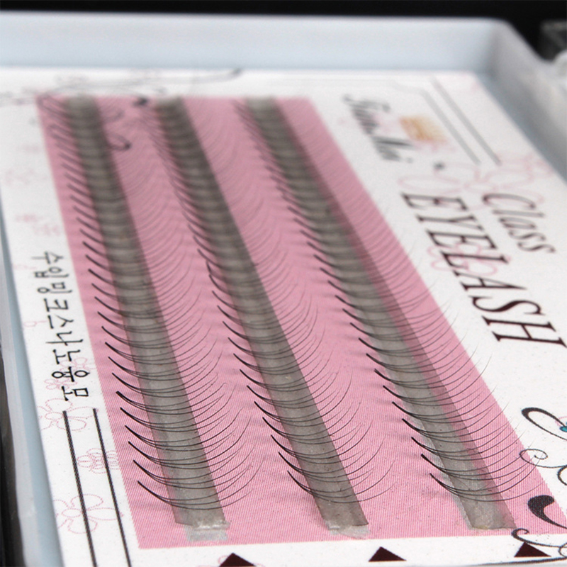 0 1mm Women Pro Makeup 90 Pcs Clusters Beauty Eye Lashes Grafting Fake False Eyelashes in False Eyelashes from Beauty Health