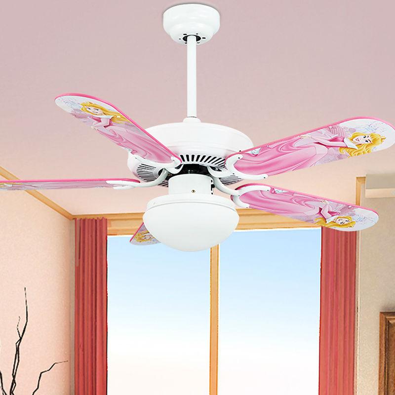 Children cute cute style fan lights ceiling fan light boys and ...