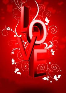Image 4 - Word LOVE Background Red Photography Background Studio Props Wall Bedroom Photo Backdrop 5x7ft