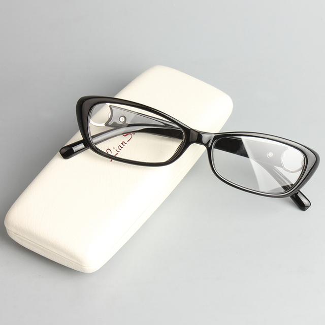 Chashma Estilo Fashion Trend Mulheres Óculos de Prescrição Óptica de Vidro Preto