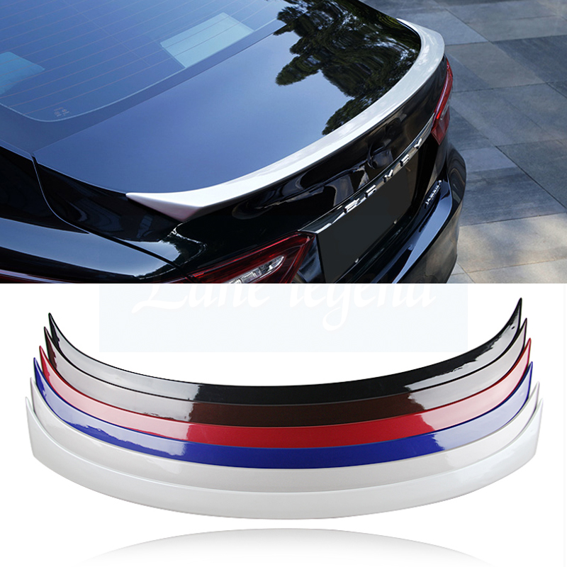 Car Accessories For Toyota Camry 2018 Car Styling Exterior High Qulity ABS Plastic Unpainted Primer Rear Wing Spoiler Cover