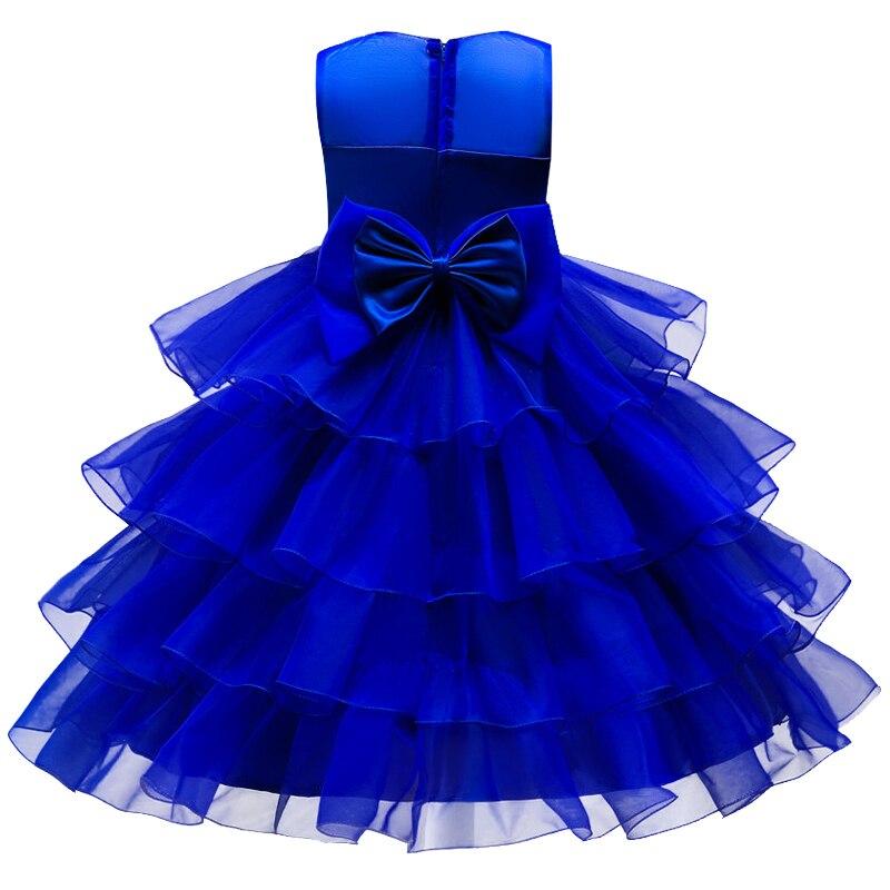 Lujo Vestido De Partido De La Flor Embellecimiento - Vestido de ...