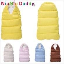 Niuniu Daddy Baby sleeping Pungă de iarnă Plic pentru nou-născuți somn termic somn Bumbac copii dormind în vagon de cărucior