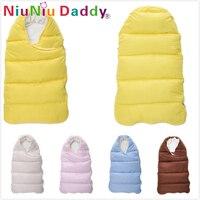 Niuniu Daddy Baby Sleeping Bag Winter Envelope For Newborns Sleep Thermal Sack Cotton Kids Sleepsack In