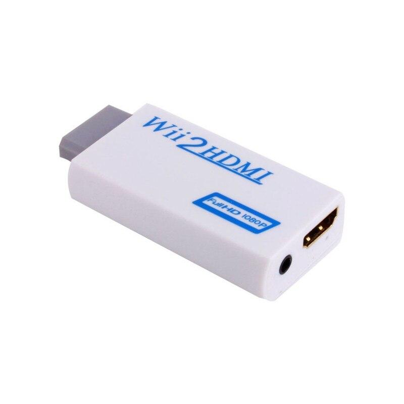 50 pz/lotto * Per Wii a HDMI 1080P Converter Wii2HDMI Adattatore Audio da 3.5mm di Uscita Video Full HD 1080P Uscita Upscaling su  Gruppo 1