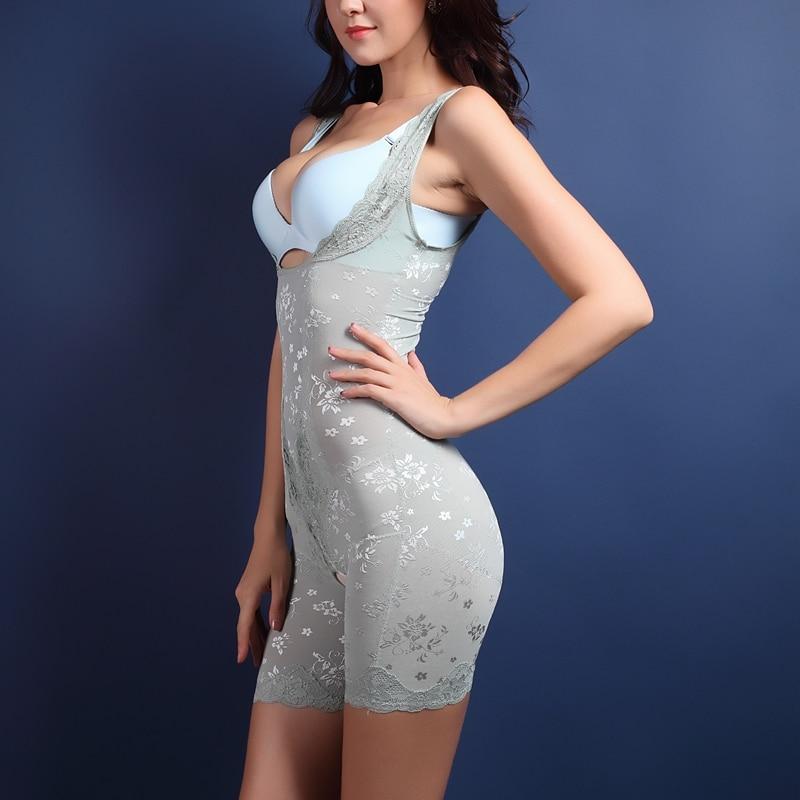 High Quality Shapewear Tummy Suit Control Underbust Women Body Shaper Slimming Underwear Vest Bodysuits Jumpsuit Corrective XXXL