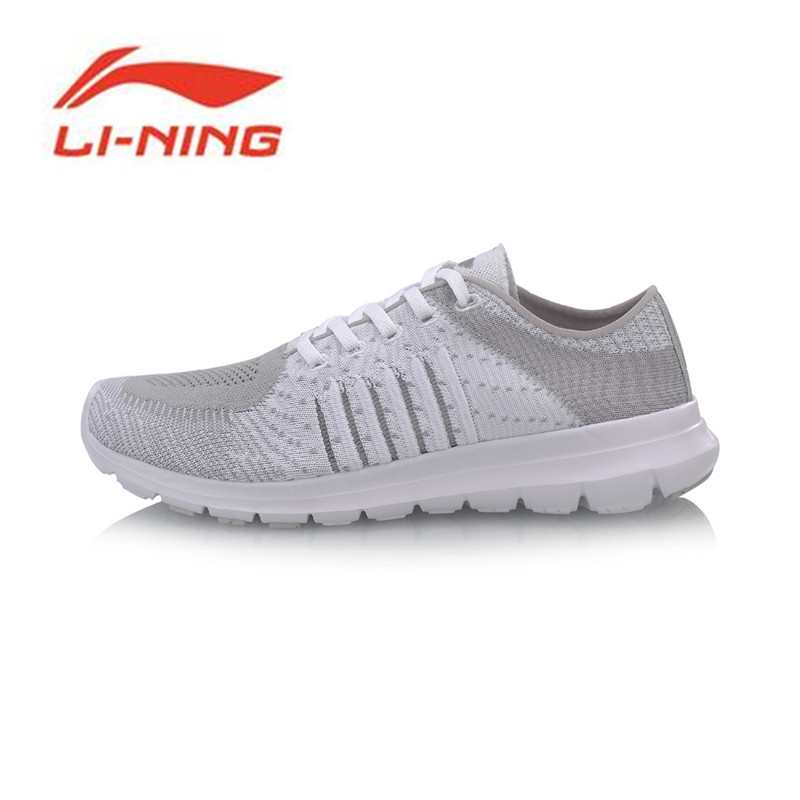 Li-Ning 2018 Women FLEX RUN Smart Moving Running Shoes Light Weight Breathable Li Ning Comfort Sports Shoes Sneakers ARKN006