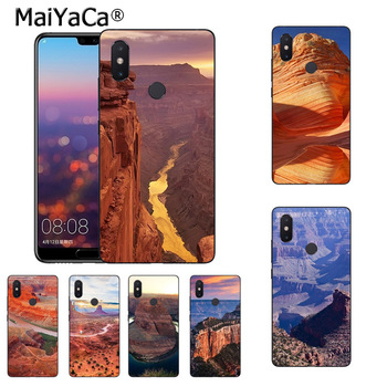 MaiYaCa American The Grand Canyon Colorful Phone Accessories Case for xiaomi mi 8se 6 note2 note3 redmi 5 plus note 4 5 cover image