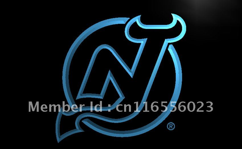 Ld093 New Jersey Devils Hockey Nr Led Neon Light Sign Home Decor Shop Crafts