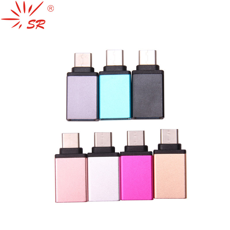 SR Type-C USB 3.0 For Le LG Huawei One Plus Mate Phone OTG Adapter Converter U Disk MacBook Expander Charger