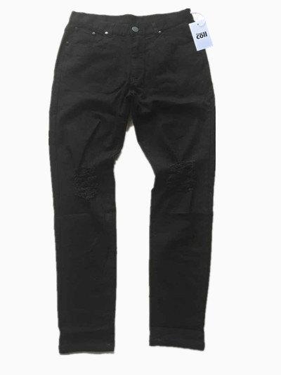 Justin bieber Ripped jeans Slim David Beckham Hip-hop jeans Destroyed Denim ripped Jeans swag men's pants Biker Kanye Cooo Coll