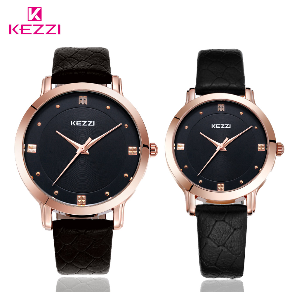 Man Woman's Quartz Watch Fashion Couple Lover's Watches PU Leather Band Wrist Watch relogio feminino Best Gifts k1028 kevin new fashion design women watches fashion black round dial pu leather band quartz wrist watch mens gifts relogios feminino