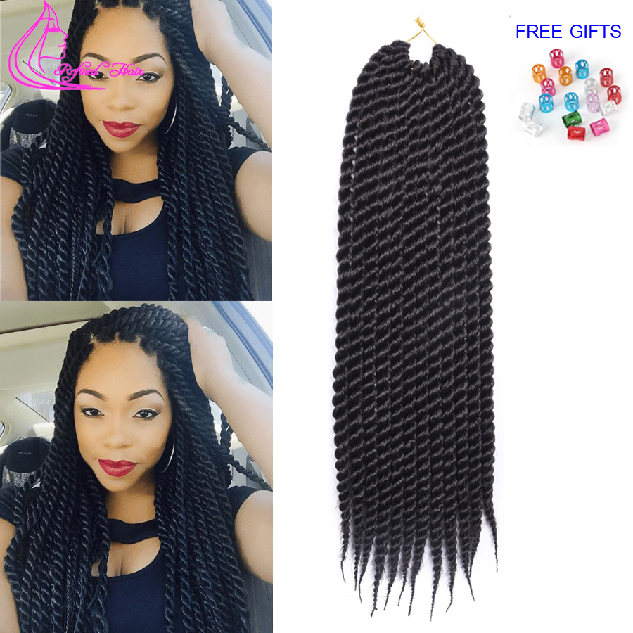 Crochet Hair Aliexpress : ... Hair Extensions Women Synthetic Hair Crochet Twist Braids Hair(China